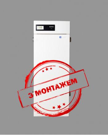 ATON ATMO 10E\ЕМ Підлогово димохідний газовий котел+монтаж