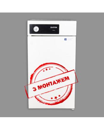ATON Котел+ ATMO 12EB\ЕВM Підлогово димохідний газовий котел з монтажем