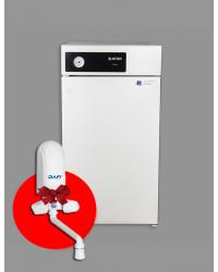 ATON ATMO 25E Підлогово димохідний газовий котел + проточний водонагрівач в подарунок