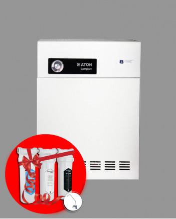 ATON COMPACT 16 ЕВУ Парапетно газовий котел + фільтр в подарунок