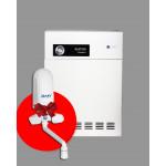 ATON COMPACT 10ЕУ Парапетно газовий котел + нагрівач в подарунок