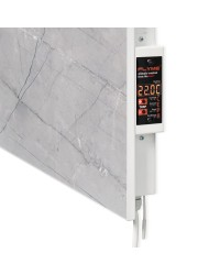 ERAFLYME Керамічна панель FLYME 600T сірий камінь (рушникосушка вертикальна)