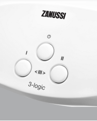 Проточний водонагрівач Zanussi 3-logic TS (3,5 kW) - кран+душ